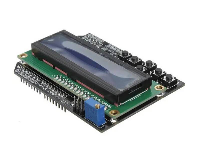 Sharvielectronics: Best Online Electronic Products Bangalore | Keypad Shield Blue Backlight For Robot LCD 16×2 Board 3 | Electronic store in bangalore