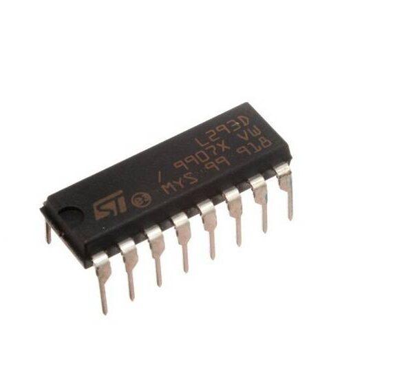 L293D IC - H-Bridge Motor Driver IC