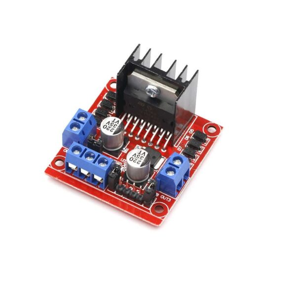 L298 2A Dual Motor Driver Module with PWM Control (6 ~ 12V)