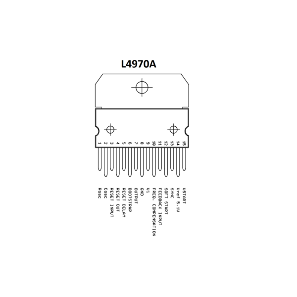 L4970A IC-10A Switching Regulator IC