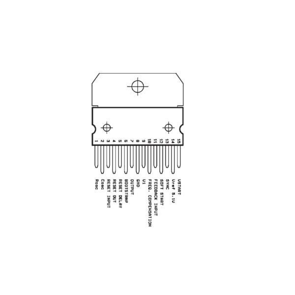 L4975-L4975A-IC-5A-Switching-Regulator-IC