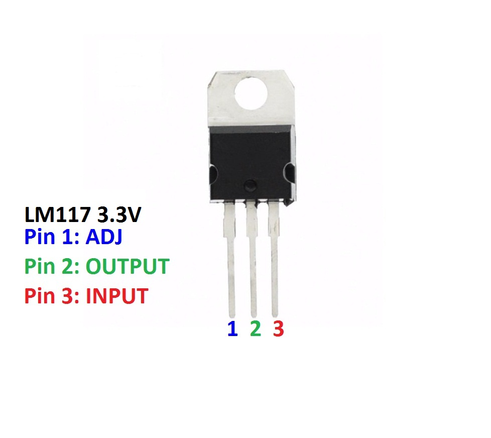 Sharvielectronics: Best Online Electronic Products Bangalore | LM1117 3.3V Low Dropout Voltage Regulator IC 1 | Electronic store in bangalore