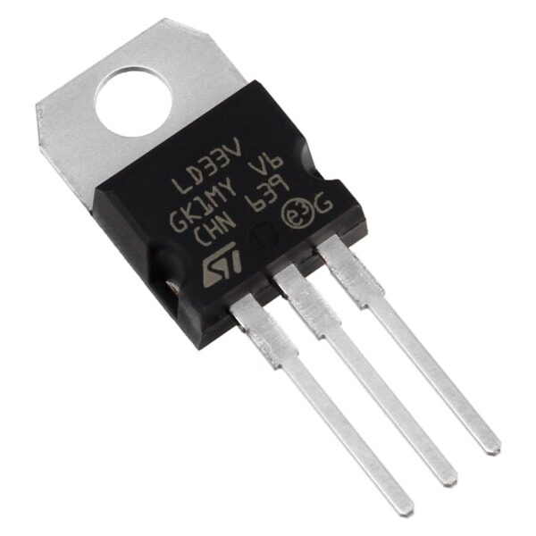 LM1117 3.3V Low Dropout Voltage Regulator IC sharvielectronics.com