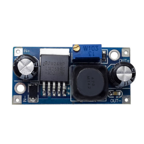 Sharvielectronics: Best Online Electronic Products Bangalore | LM2596 STEP DOWN DC DC Buck Converter power Supply Module | Electronic store in bangalore
