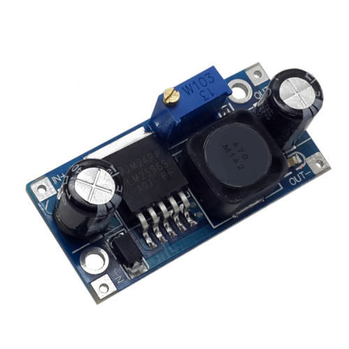 Sharvielectronics: Best Online Electronic Products Bangalore | LM2596 STEP DOWN DC DC Buck Converter power Supply Module1 | Electronic store in bangalore