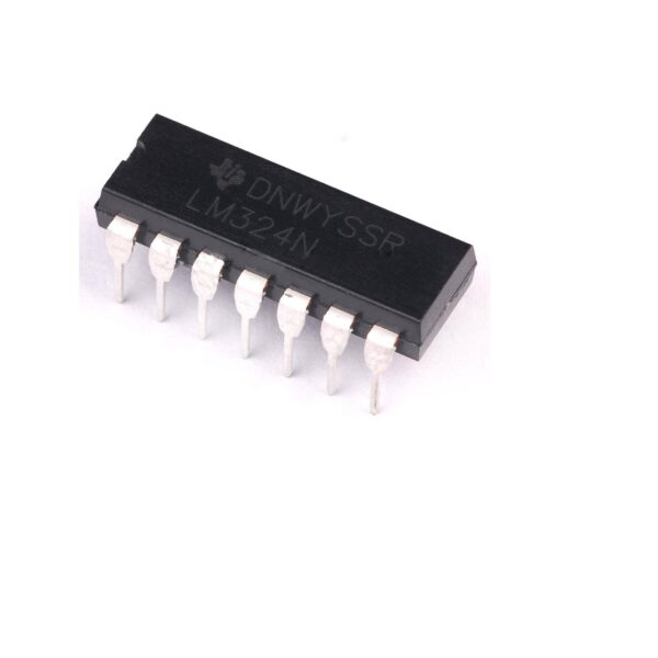 LM324 IC-Low Power Quad Op-Amp IC