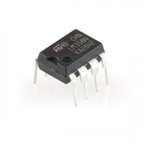 LM358 IC-Low Power Dual Op-Amp IC sharvielectronics.com