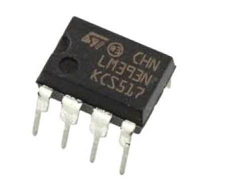 LM393 IC – Low Power Low Offset Voltage Dual Comparator IC sharvielectronics.com