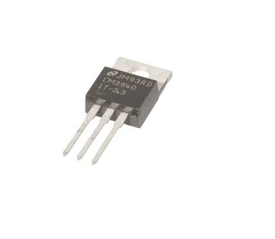LM3940 IC-1A-Low Dropout Regulator IC for 5V to 3.3V Conversion