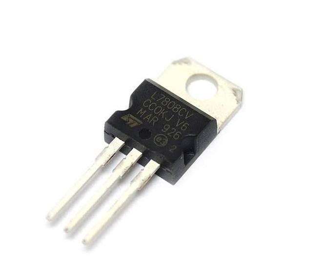 LM7808 IC-8V Positive Voltage Regulator IC