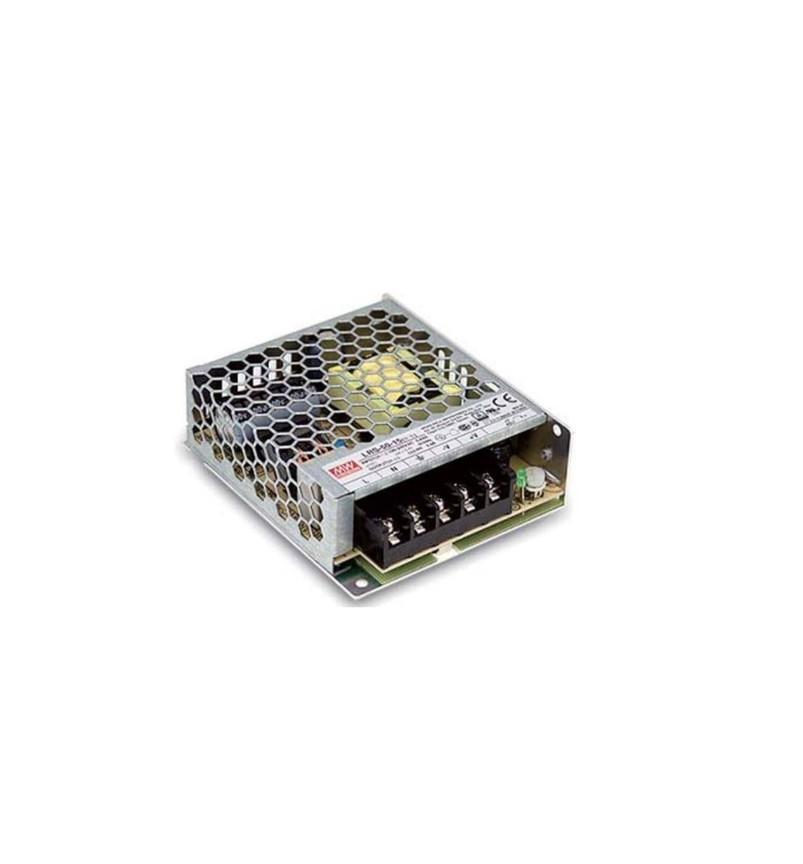 Sharvielectronics: Best Online Electronic Products Bangalore | LRS 50 12 Mean Well SMPS – 12V 4.2A – 50.4W Metal Power Supply | Electronic store in bangalore