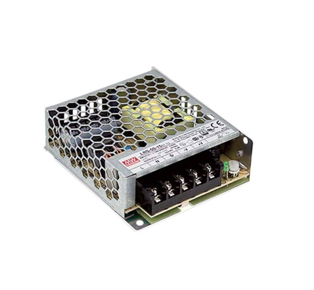 Sharvielectronics: Best Online Electronic Products Bangalore | LRS 50 15 Mean Well SMPS – 15V 3.4A – 51W Metal Power Supply | Electronic store in bangalore