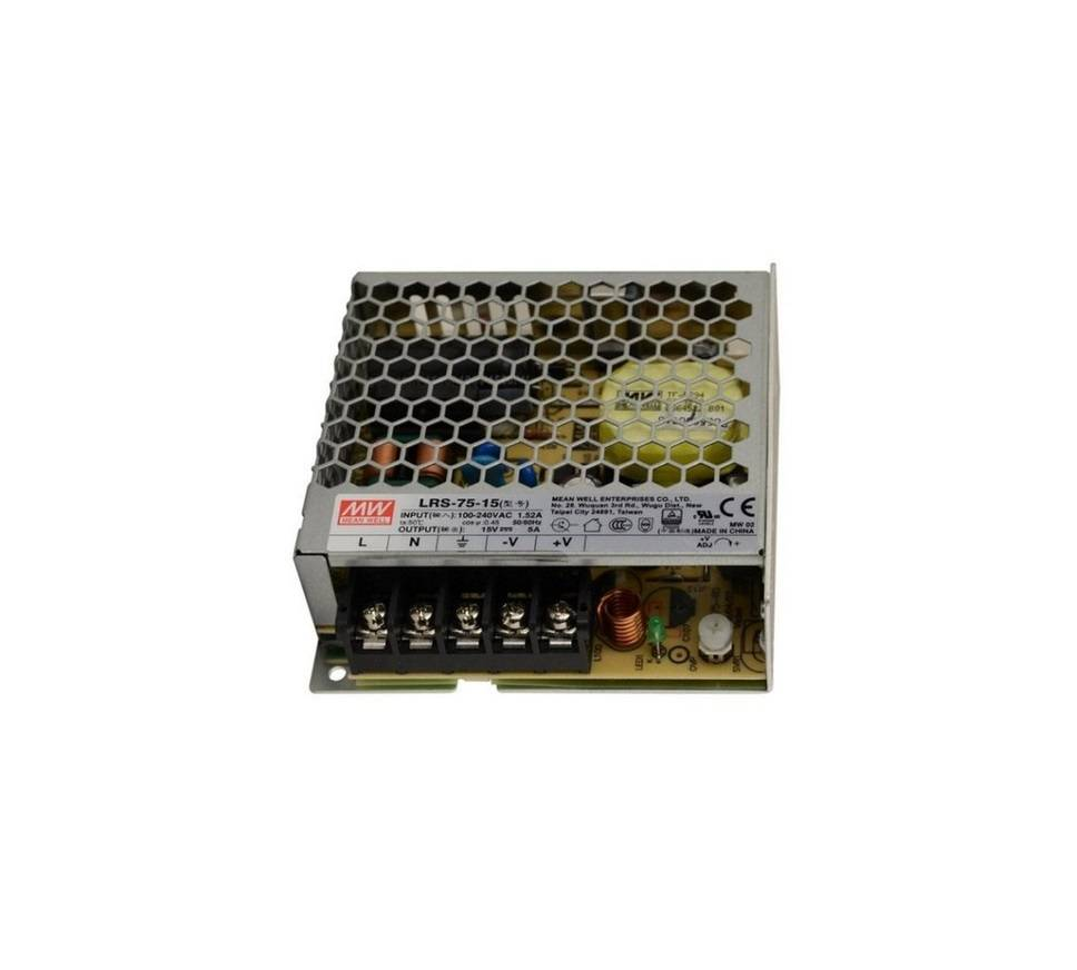Sharvielectronics: Best Online Electronic Products Bangalore | LRS 75 15 Mean Well SMPS – 15V 5A – 75W Metal Power Supply 2 | Electronic store in bangalore