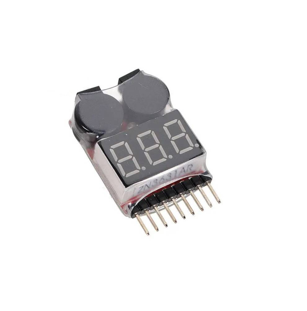 Sharvielectronics: Best Online Electronic Products Bangalore | Lipo Battery Voltage Tester with Buzzer Alarm 2 | Electronic store in bangalore