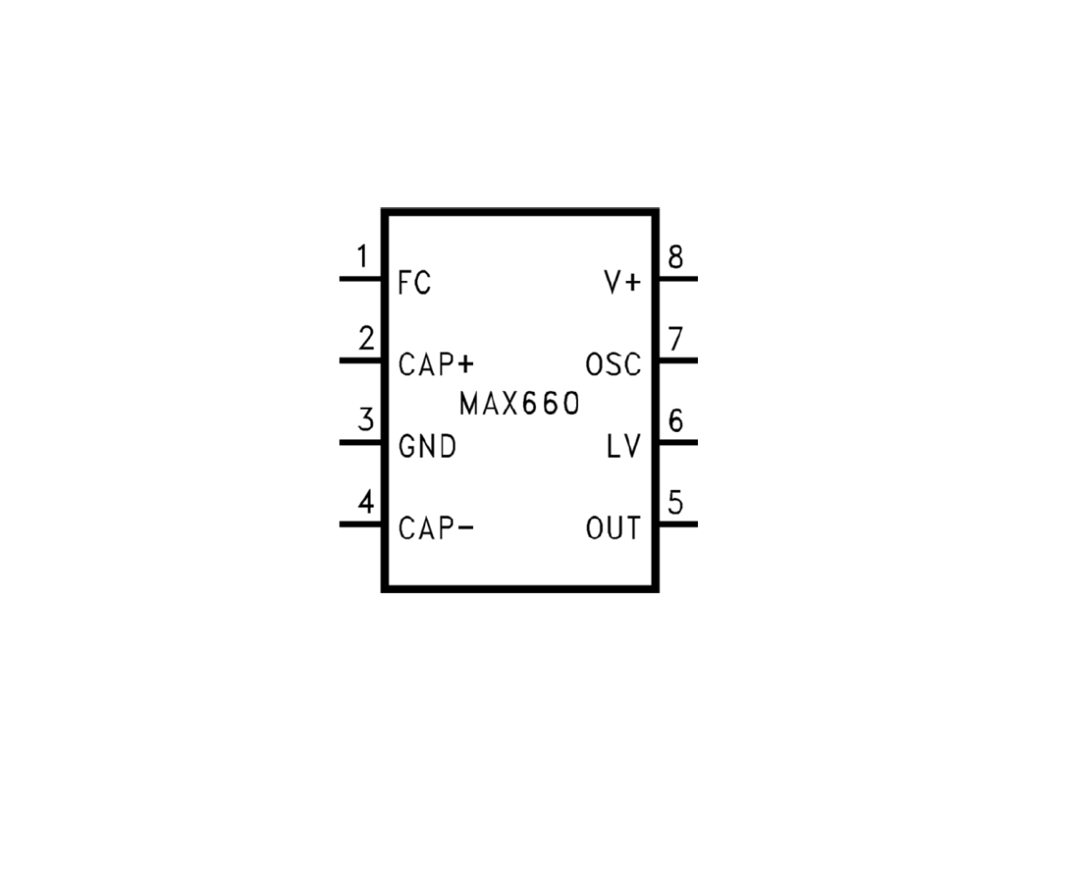 MAX660-IC-CMOS-Monolithic-Voltage-Converter-IC