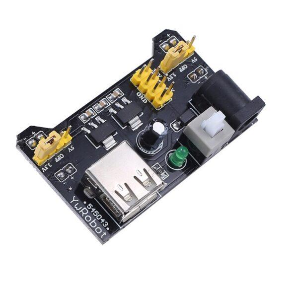 MB102 Breadboard 3.3V5V Power Supply Module Sharvielectronics.com