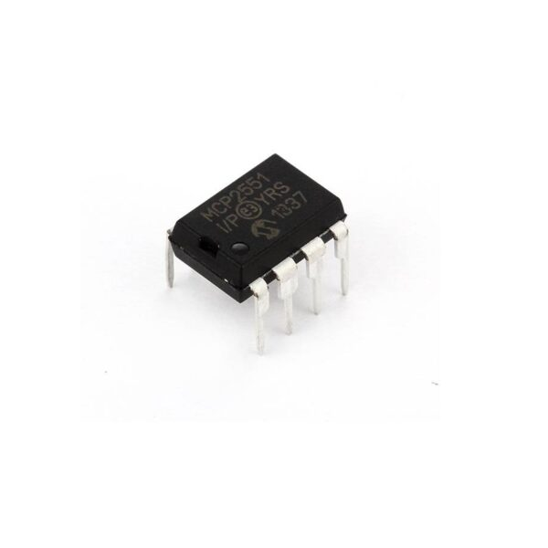 MCP2551 CAN Transceiver IC Package-DIP-8