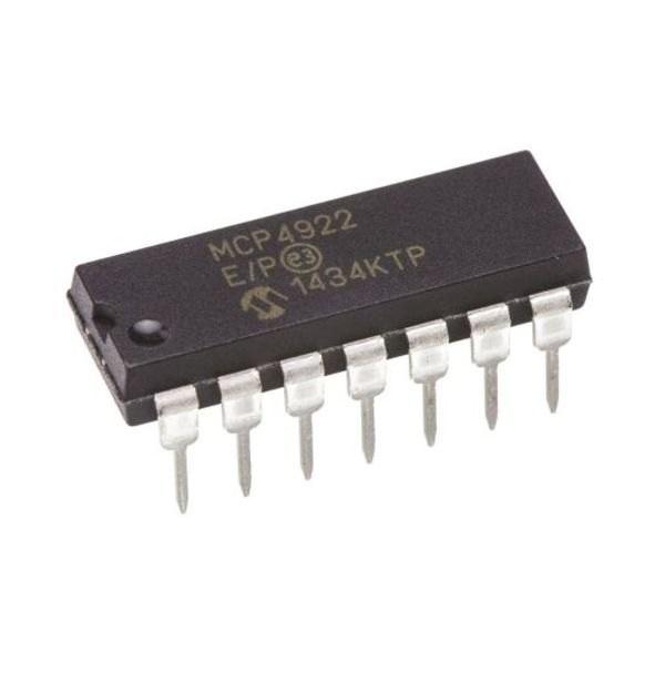 MCP4922 IC - 12 Bit DA Converter (DAC) IC sharvielectronics.com