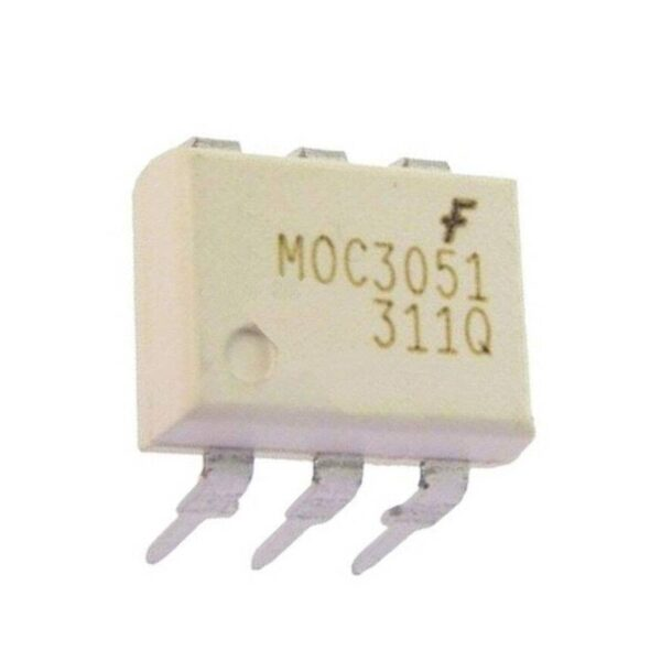 MOC3051 IC - FSC Optocoupler Triac-out IC sharvielectronics.com