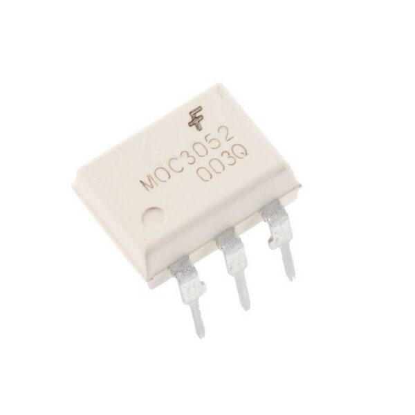 MOC3052 IC-Optoisolator Triac Driver Optocoupler IC Sharvielectronics