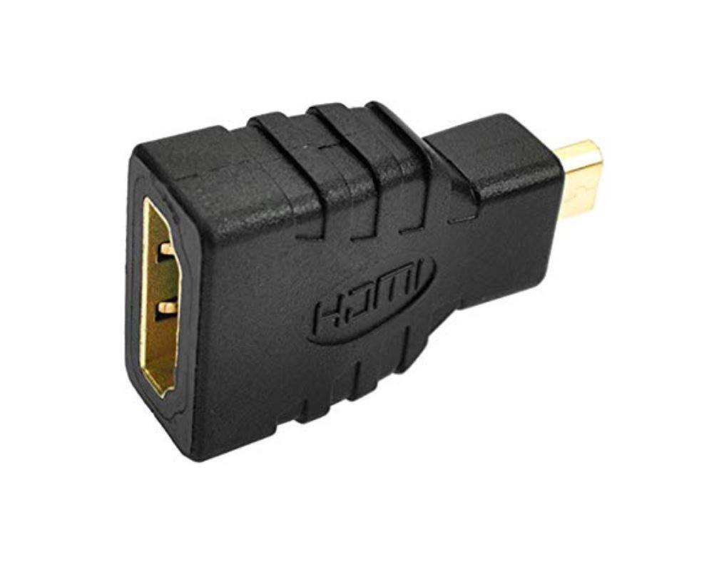 Micro HDMI Male To Female Adaptor for Raspberry Pi