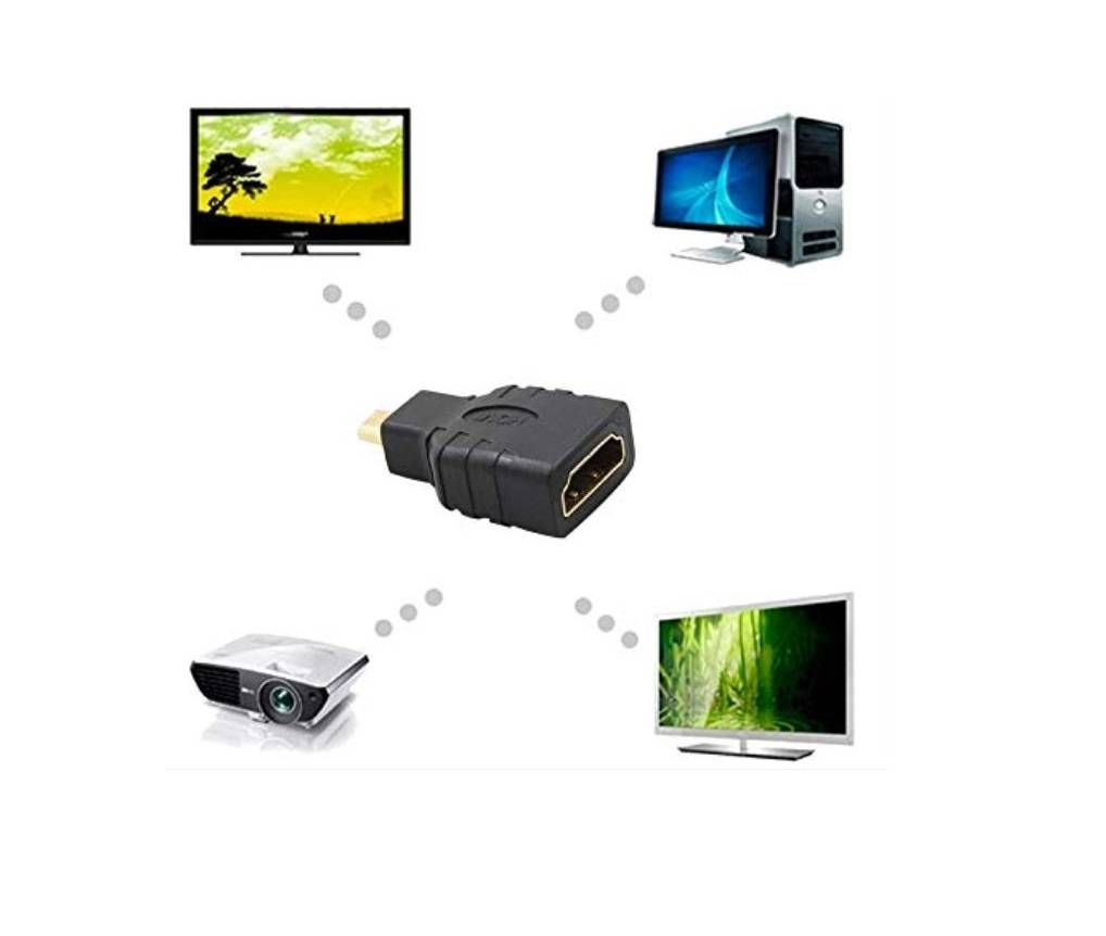 Sharvielectronics: Best Online Electronic Products Bangalore | Micro HDMI Male To HDMI Female Adaptor for Raspberry Pi 4 2 | Electronic store in bangalore