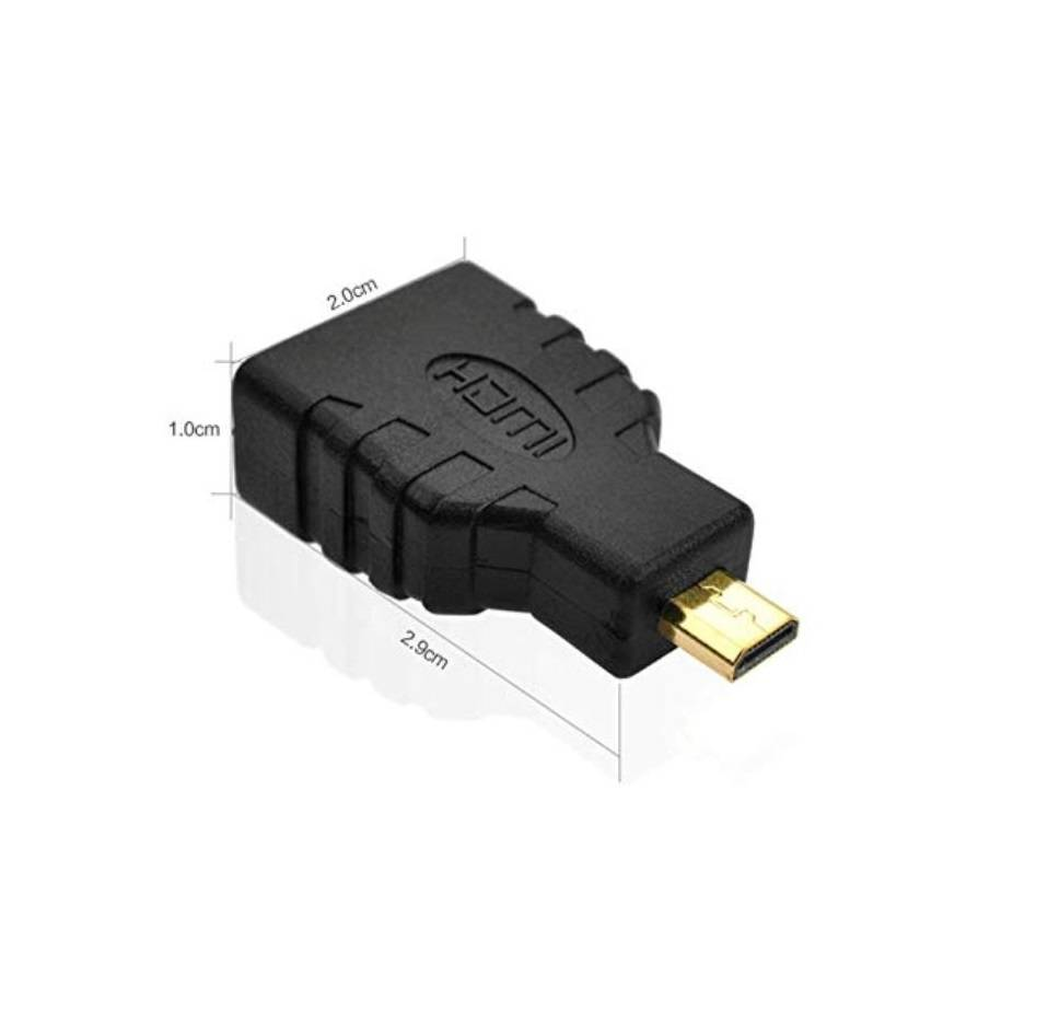 Sharvielectronics: Best Online Electronic Products Bangalore | Micro HDMI Male To HDMI Female Adaptor for Raspberry Pi 4 3 | Electronic store in bangalore