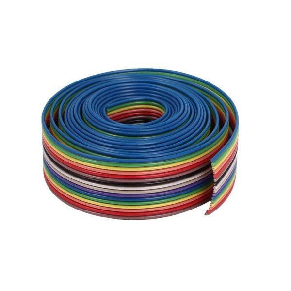 Multicolor 10 Core Ribbon Wire -1 Meter - Konnrct