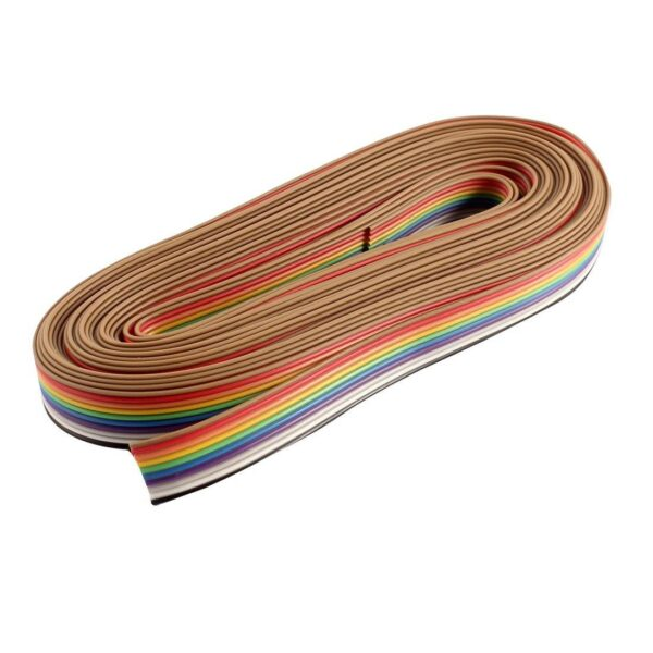 Multicolor 10 Core Ribbon Wire-1 metre