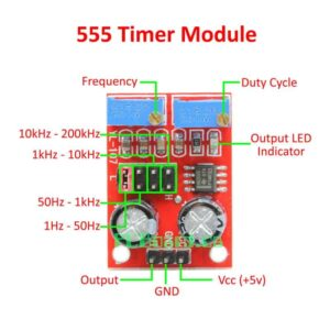 Sharvielectronics: Best Online Electronic Products Bangalore | NE555 Pulse Frequency Duty Cycle Adjustable Module Square Wave Signal Generator Sharvielectronics | Electronic store in bangalore