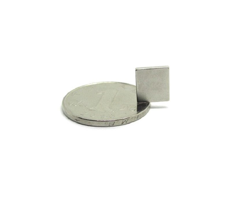 Neodymium Block Magnet - 10mm x 10mm x 2mm sharvielectronics.com