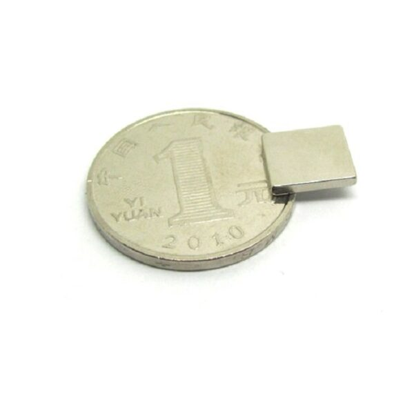 Neodymium Block Magnet - 10mm x 10mm x 2mm sharvielectronics.com