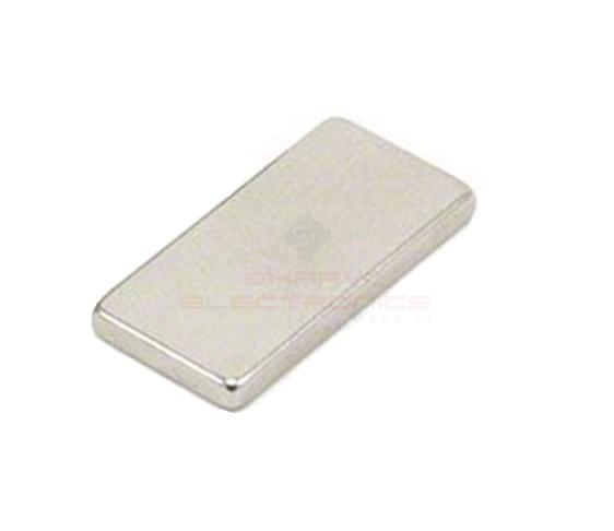 Neodymium Block Magnet - 20mm x 10mm x 1.5mm sharvielectronics.com