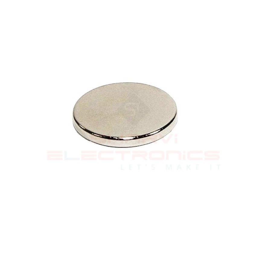 Neodymium Disc Shaped Strong Magnet – 18mm x 2mm sharvielectronics.com