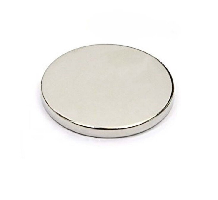 Neodymium Disc Shaped Strong Magnet - 20mm x 2mm sharvielectronics.com