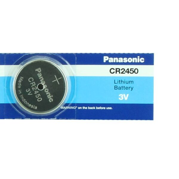 CR2450-3V/620mAh-Lithium Coin Cell-Panasonic