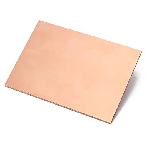 Plain Copper Clad Board (PCB) - Paper Phenolic - Single Sided - 3X4 inches