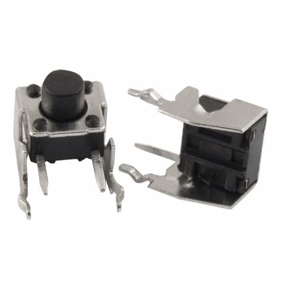 Push Button Right Angle Tactile Switch 6x5mm Right Angle Tactile Switch-Momentary Switch Sharvielectronics