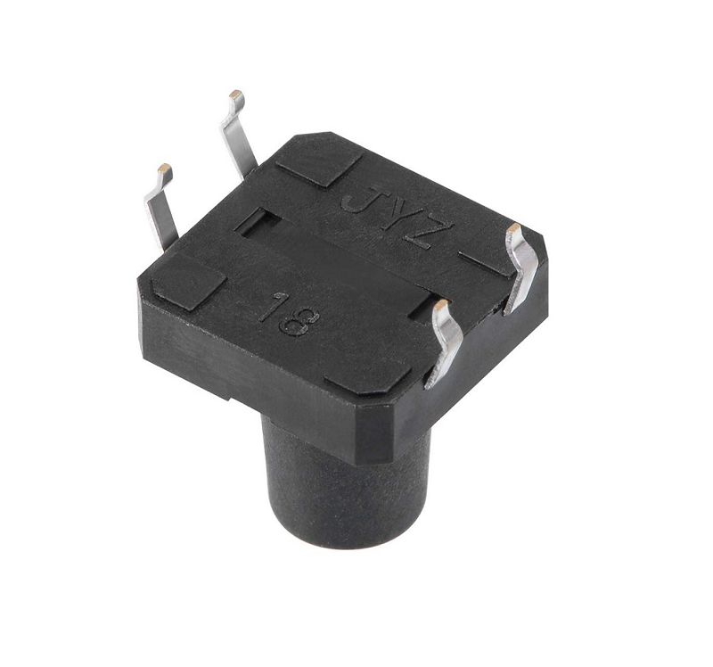 Push Button-Tactile Micro Switch-12X12X10mm-4 Pin-Sharvielectronics