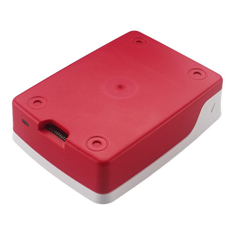 Raspberry Pi 4 Case Red And White sharvielectronics.com