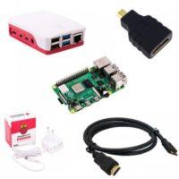Raspberry Pi 4 Model B-4GB Ram-Starter Kit
