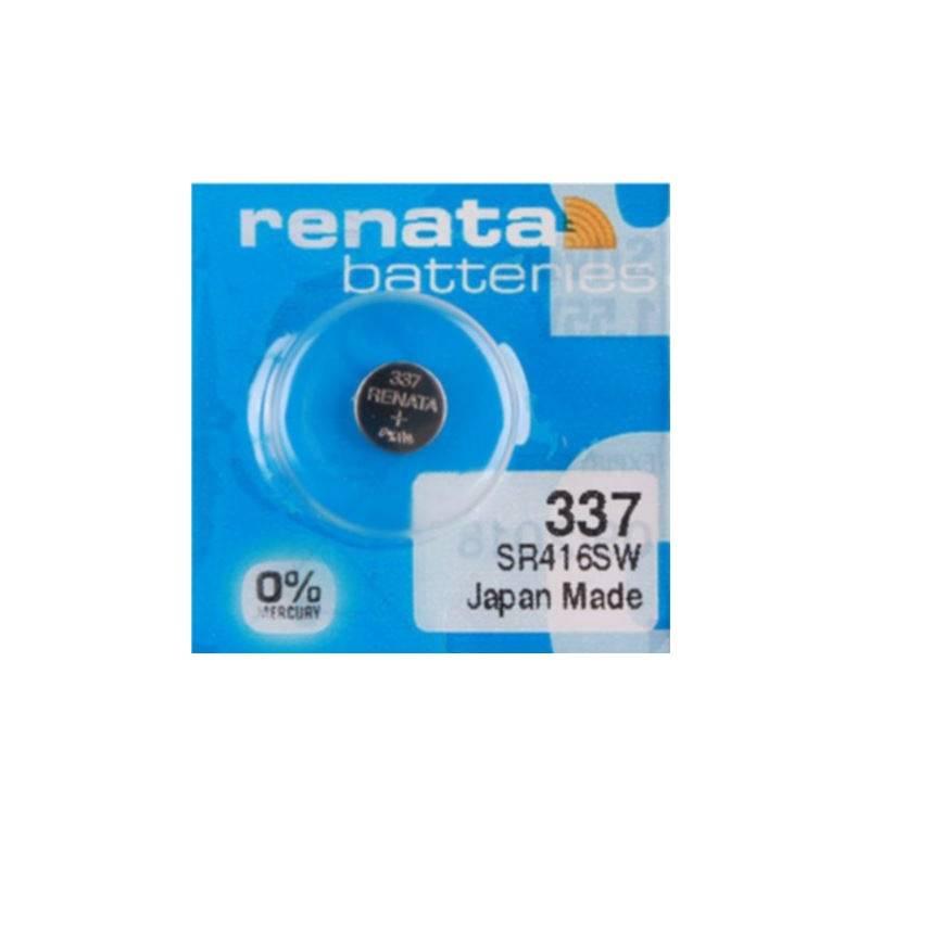 SR416SW-1.55V/8mAh-Silver Oxide Button Cell-337 Renata