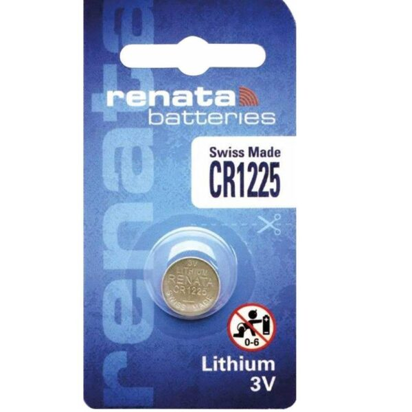 CR1225-3V/48mAh-Lithium Coin Cell-Renata