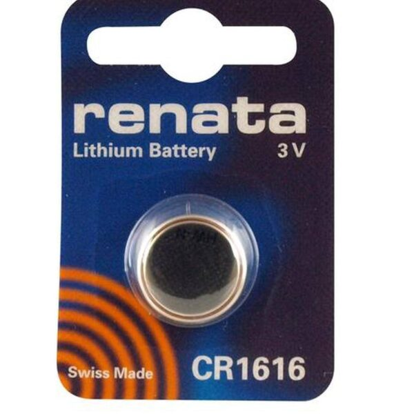 CR1616-3V/50mAh-Lithium Coin Cell-Renata