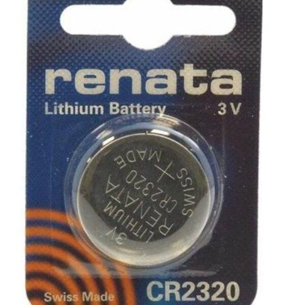 CR2320-3V/150mAh-Lithium Coin Cell-Renata