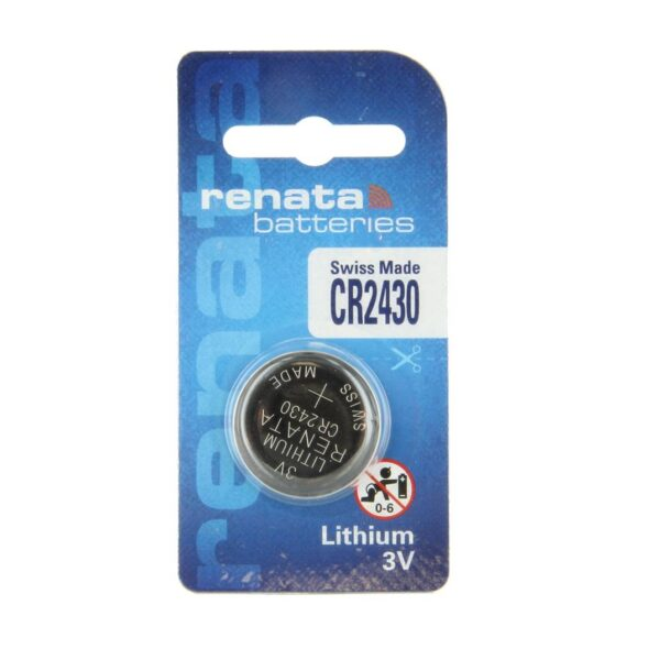 CR2430-3V/285mAh-Lithium Coin Cell-Renata