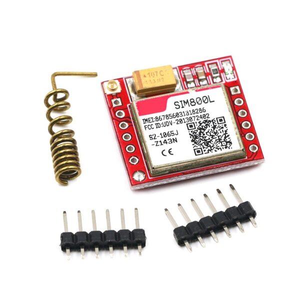 SIM800L GPRS GSM Module Micro SIM Card Core Board Quad-band TTL Serial Port ( 3.7-4.2V) sharvielectronics.com