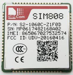 SIM808 Quad-Band GSM/GPRS/GPS Module