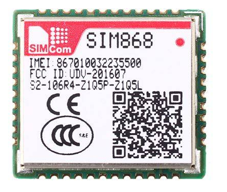 SIM868 Quad-Band GSM/GPRS and GNSS Module
