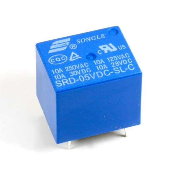 SPDT Relay-5V10A-PCB Mount_sharvielectronic